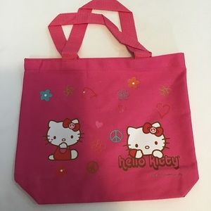 3 for $15 Hello Kitty Pink Canvas Tote Bag